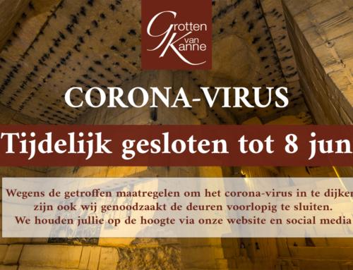 Tijdelijk gesloten – Corona-virus
